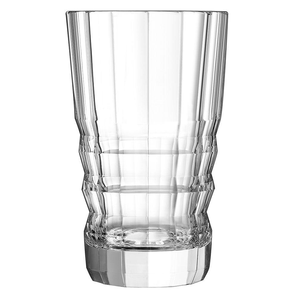 Vaso Cristal Transparente Architect 27X16X16Cm