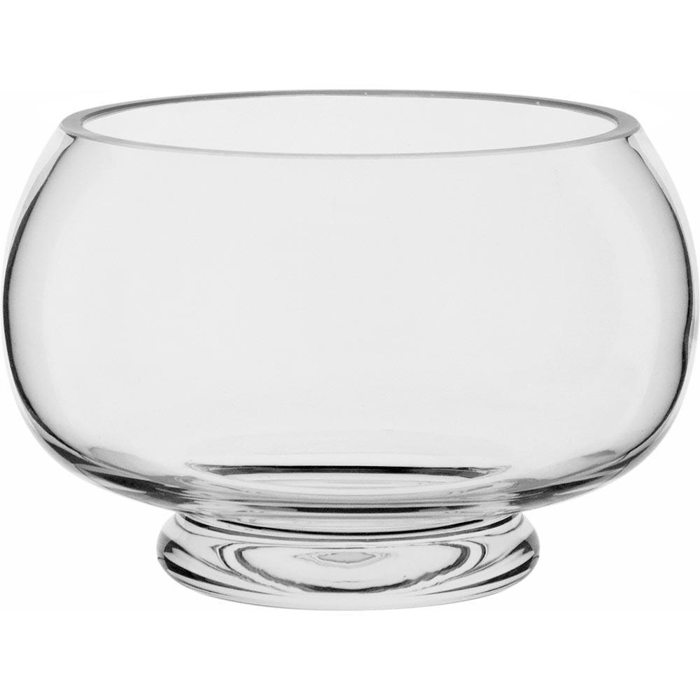 Castiçal Vidro Transparente 10X15X13Cm