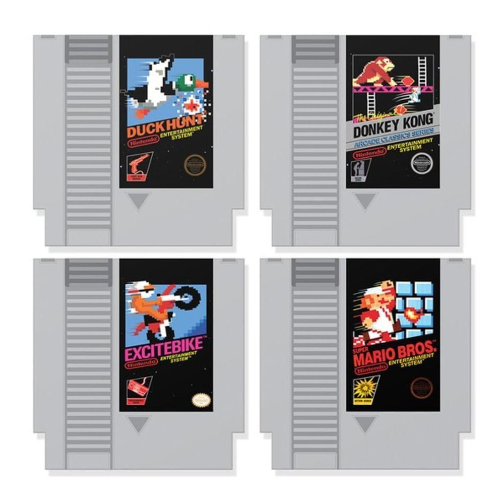 Porta Copos Cartuchos Vídeo Game Fábrica Geek