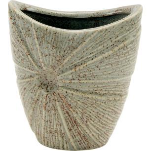 Vaso Cerâmica Marfim Home&Co Prune 20X17X9Cm