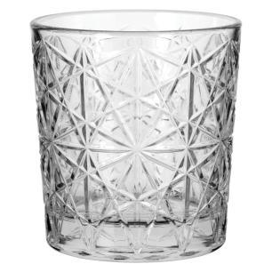 Copo Água 6 Peças Vidro Transparente 275Ml Bormioli Rocco Lounge 9X8X8Cm