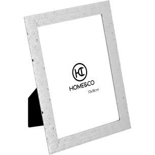 Porta-Retratos Metal Prata 13X18 Home&Co Fenice 20X15X2Cm