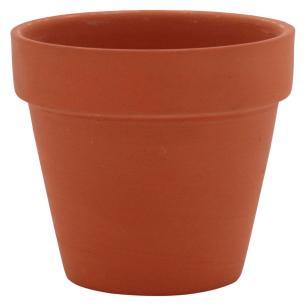 Vaso Natural 3 peças Clay Terracota 7X8X8Cm