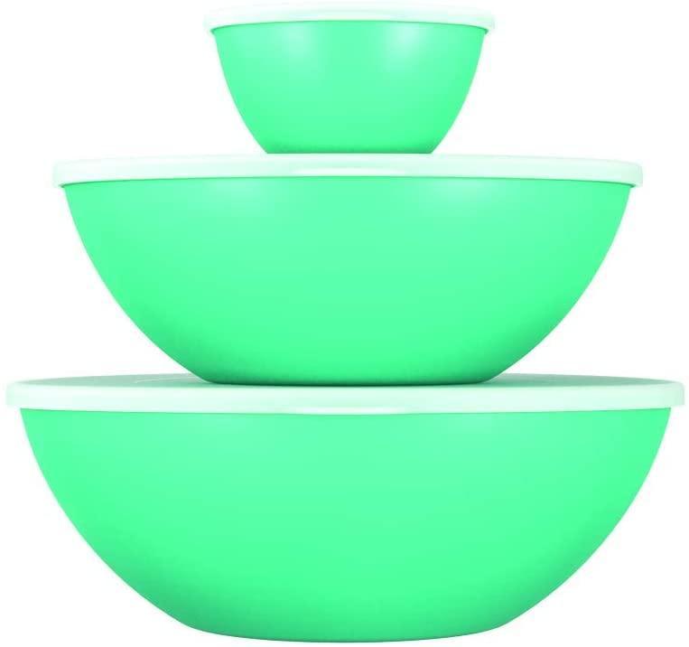 Conjunto 3 Peças Essential com Tampa Verde Coza