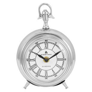Relógio Alumínio Prata Home&Co Délhi 20X14X8Cm