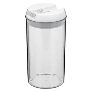 Pote Hermético Plástico Transparente 1,1L Pratik 21X11X11Cm