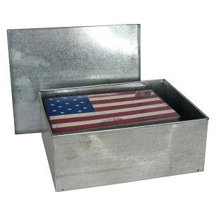 Caixa Organizadora Color 2 peças Metal Nation 9X23X18Cm