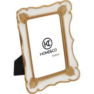 Porta-Retratos Resina Creme 10X15 Home&Co Carole 20X15X2Cm