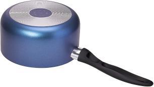 Panela Brinox 7061/356 Mint 18cm 2,05L Cobalto com Tampa de Vidro e Cabo Soft Touch