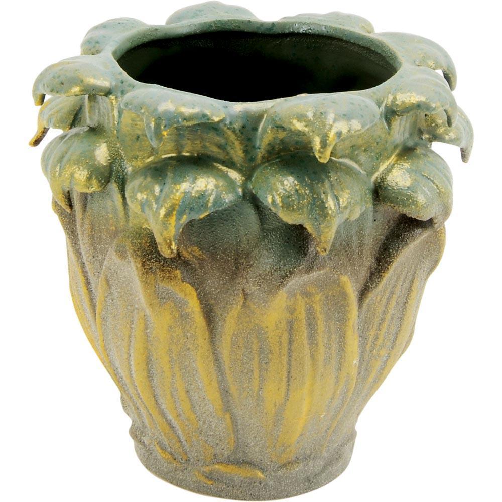 Vaso Cerâmica Verde Home&Co Chryso 17X17X17Cm