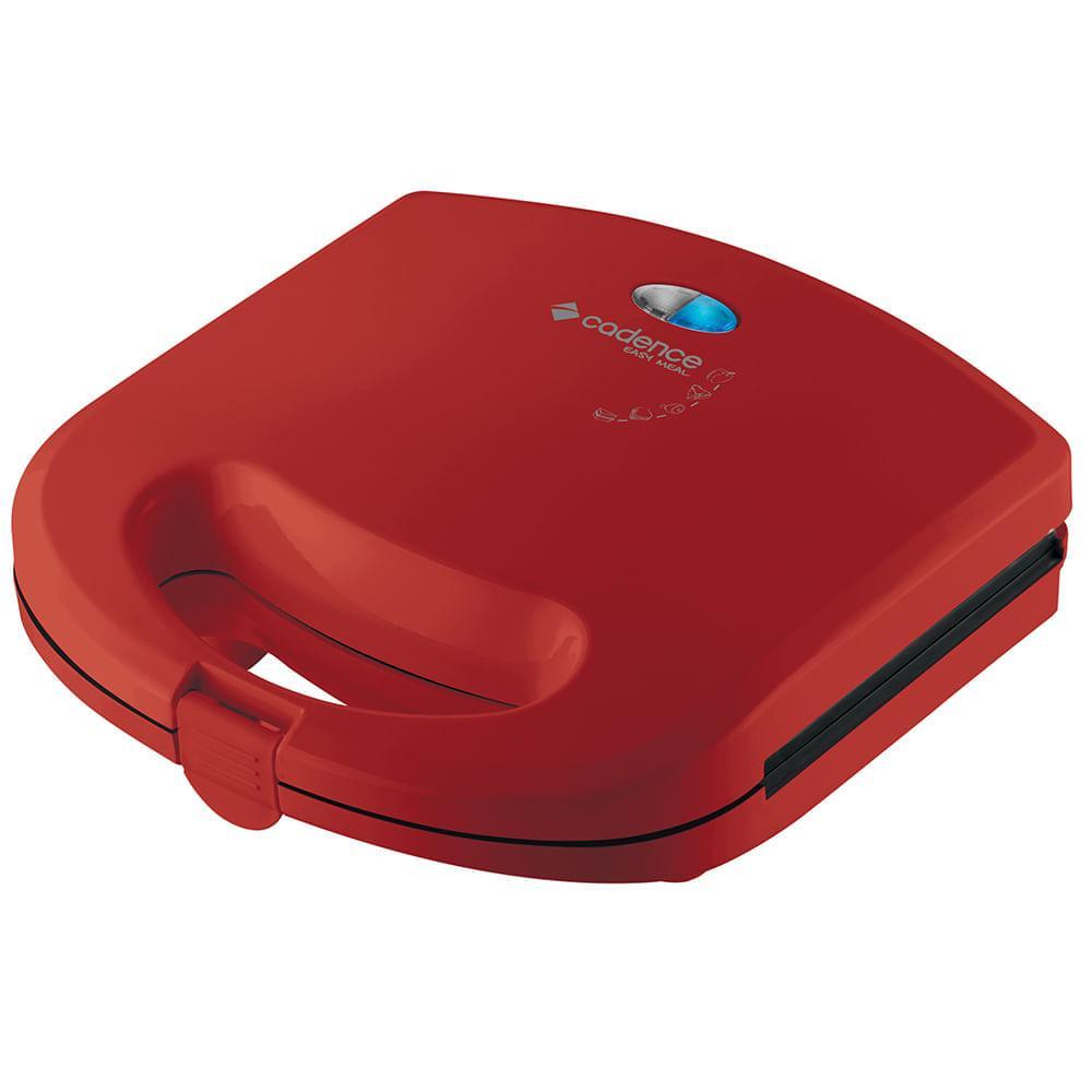 Sanduicheira Minigrill Cadence Colors 127V Vermelha