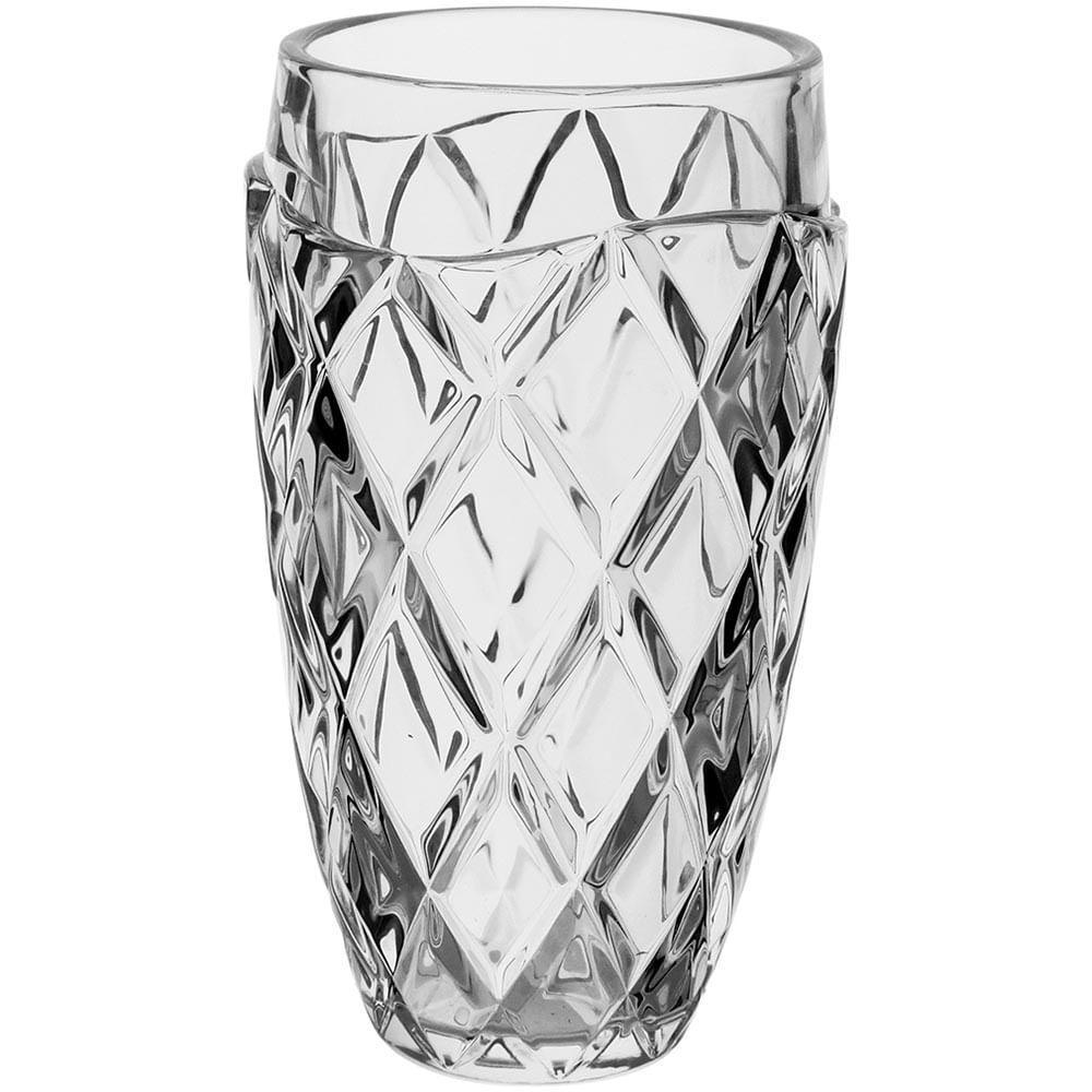 Vaso Ecologico Cristal Transparente Mellione 28X16X16Cm