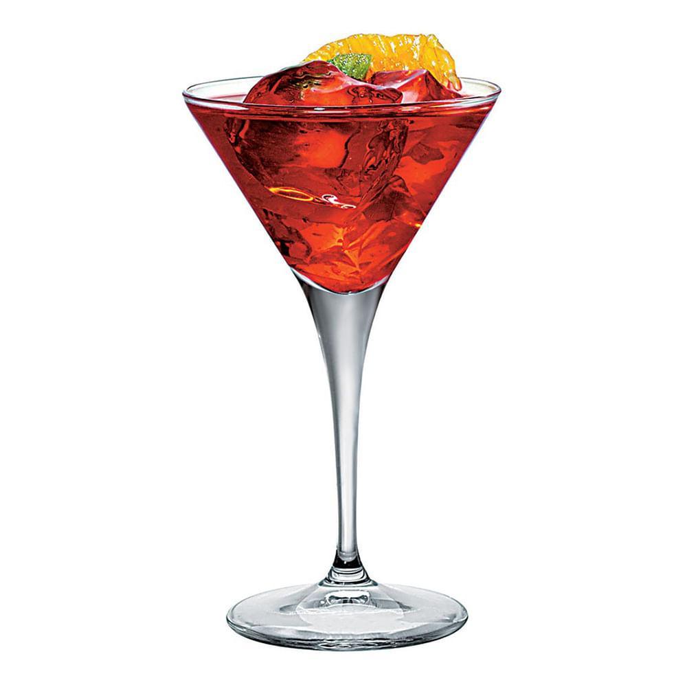 Taça Cocktail Vidro 245Ml Bormioli Rocco Ypsilon 18X11X11Cm 2 Peças