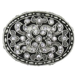 Porta Jóias Metal Prata Home&Co Relique 4X7X5Cm