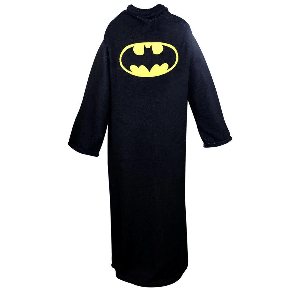Cobertor DC Comics Batman 1,60 x 1,30 m com Mangas