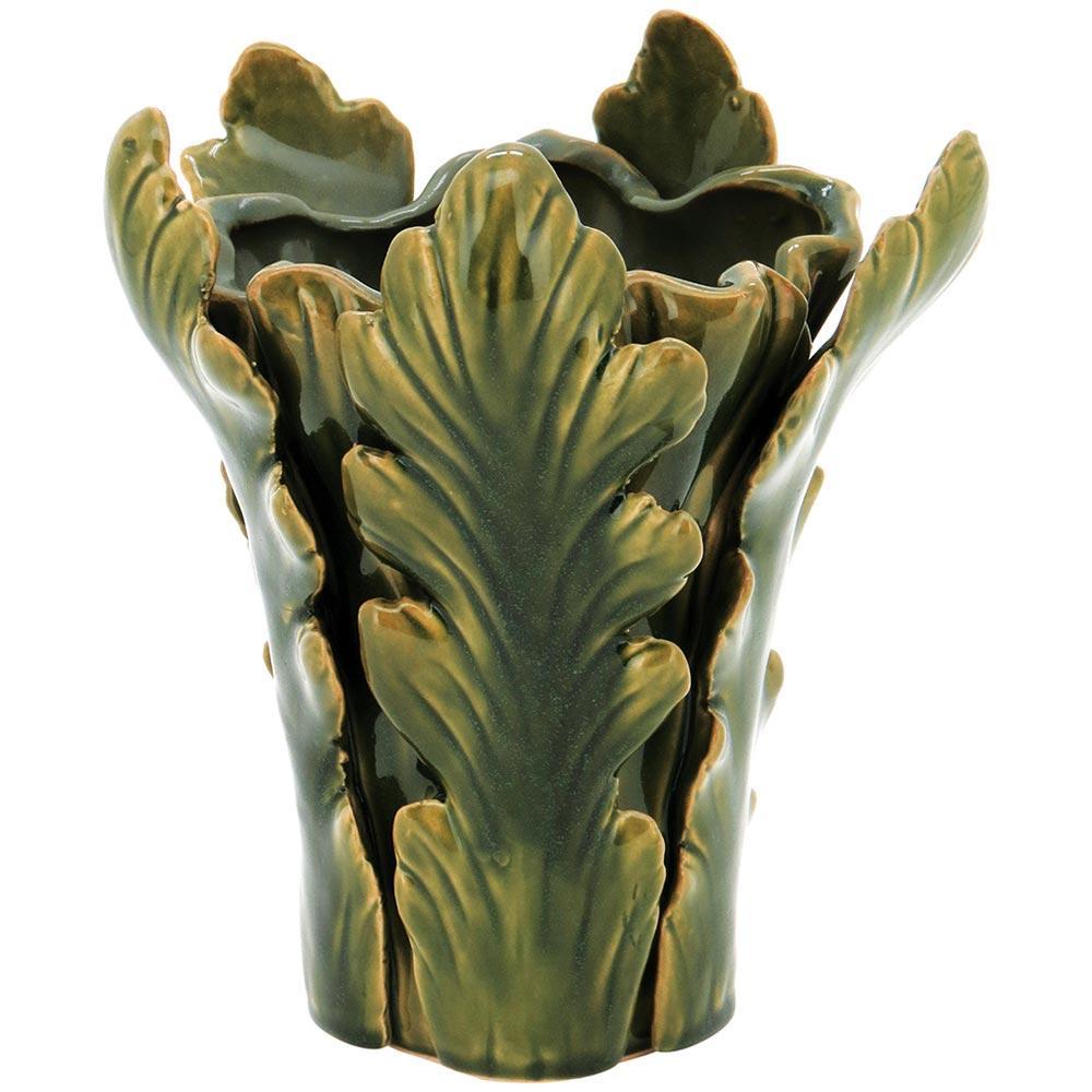 Vaso Cerâmica Verde Home&Co Cherrie 22X18X18Cm
