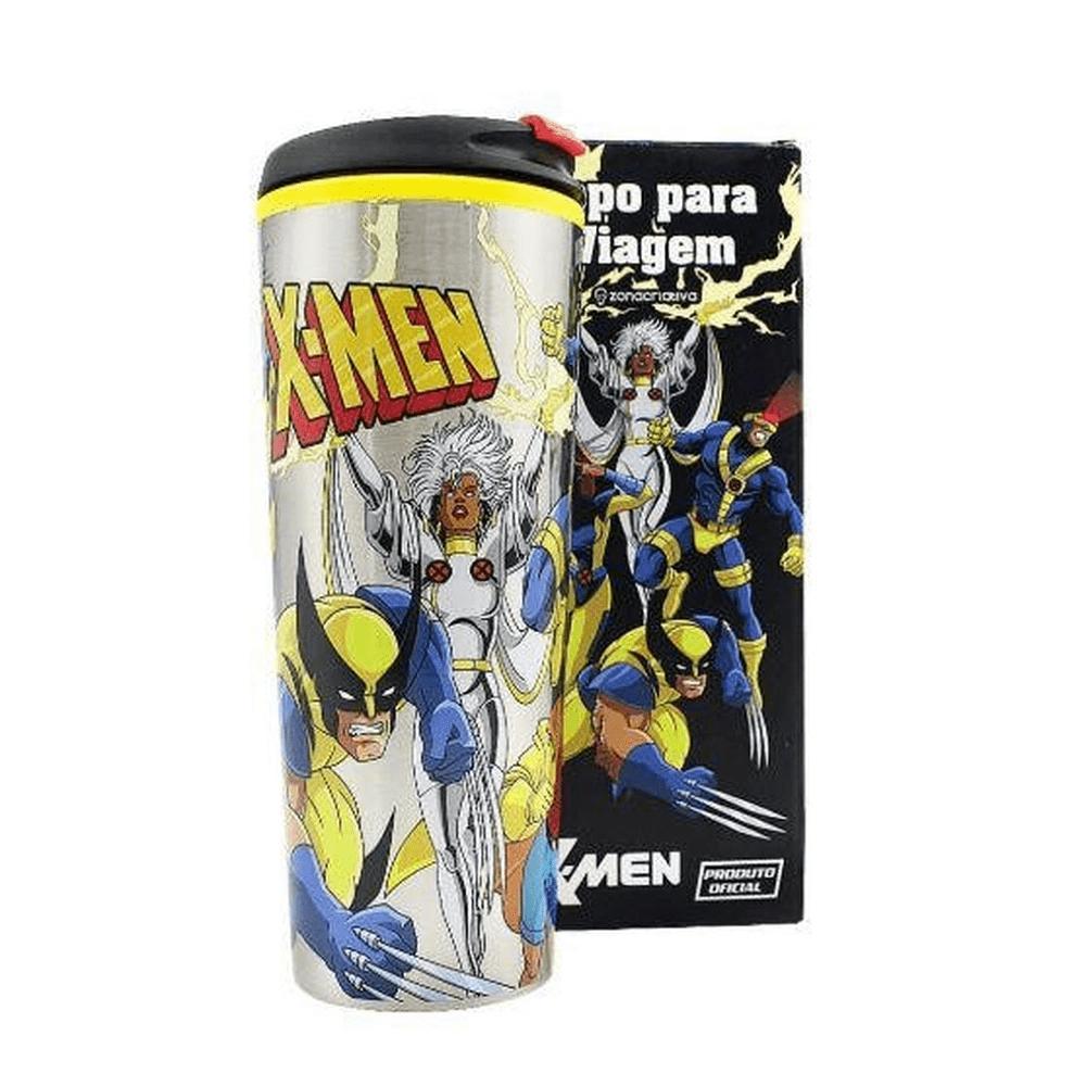 Copo de viagem X-Men turma 450 ml Metal