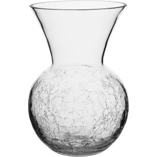 Vaso Vidro Transparente Kraklet 25X14X14Cm