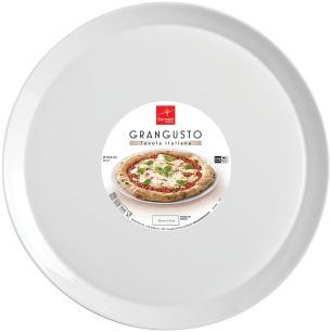 Prato Pizza Vidro Temperado Bormioli Rocco Grangusto 2X34X34Cm