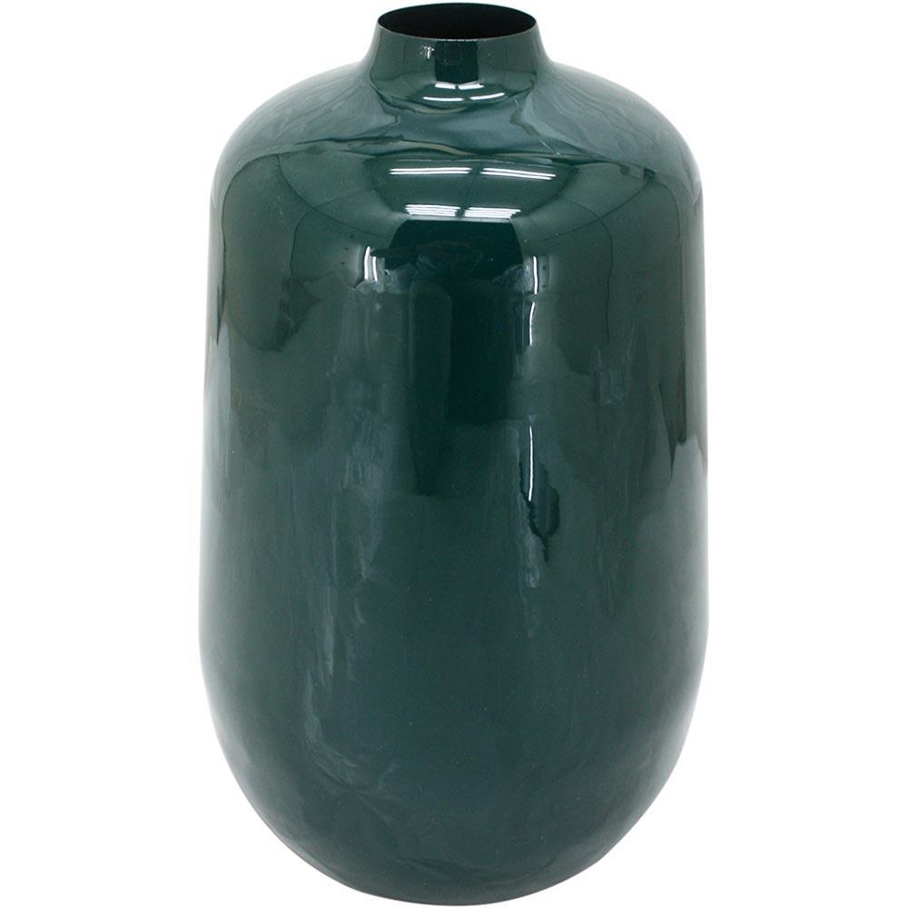 Vaso Metal Verde Home&Co Grambello 30X18X18Cm