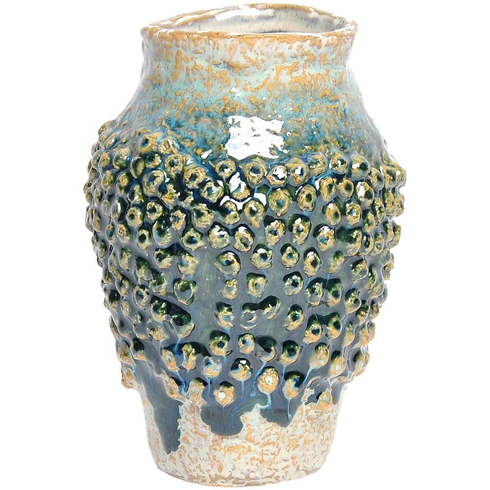 Vaso Cerâmica Verde Home&Co Fennel 20X13X13Cm