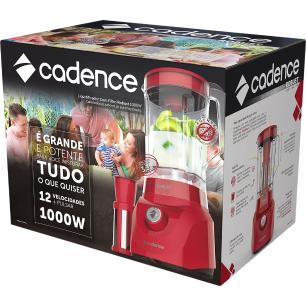 Liquidificador Cadence Robust 220V Vermelho