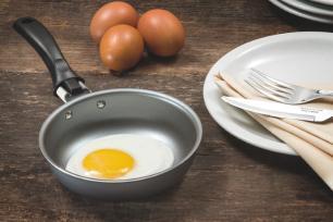 Frigideira Tramontina Caribe 13 cm Preta Alumínio para Ovo