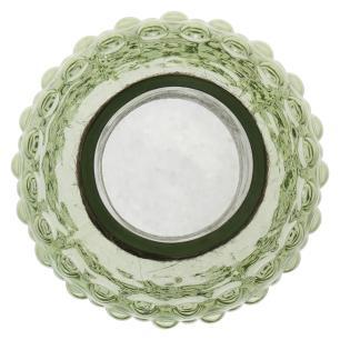 Garrafa Decorativa Vidro Verde Dijon 35X13X13Cm