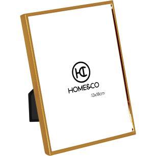Porta-Retratos Metal Dourado 13X18 Home&Co Joan 18X13X1Cm
