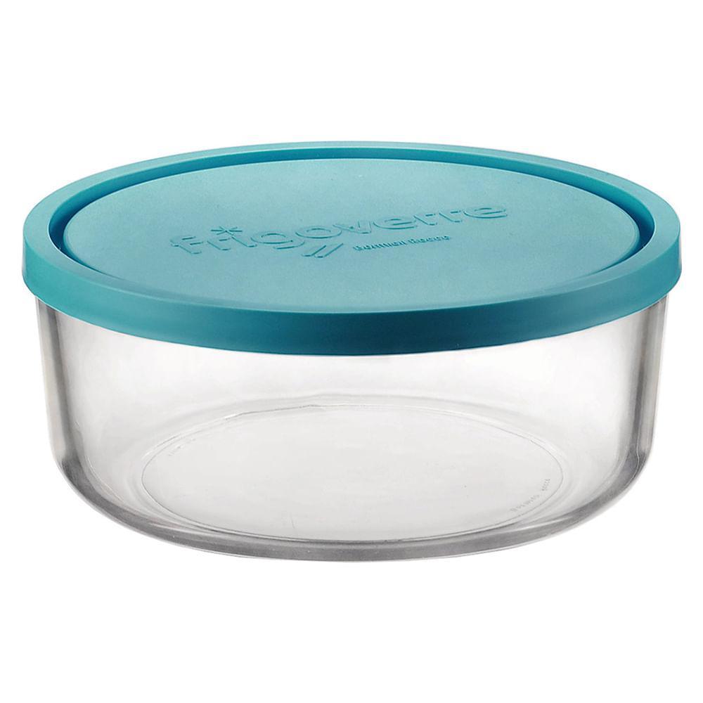 Pote Vidro Transparente 750Ml Bormioli Rocco Frigover 7X15X15Cm