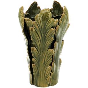 Vaso Cerâmica Verde Home&Co Cherrie 34X21X21Cm