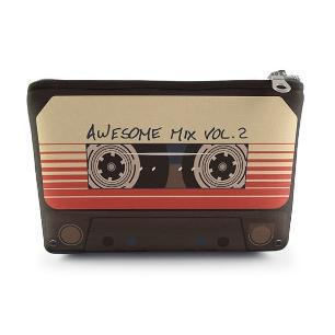 Necessaire Awesome Mixtape 19x14cm Neoprene com Zíper