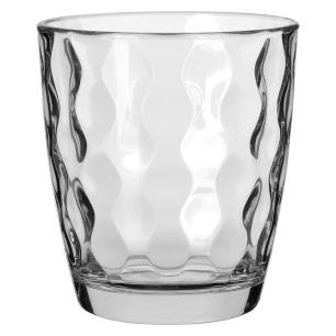 Copo Uísque Vidro Transparente 390Ml Bormioli Rocco Silk 10X9X9Cm 6 Peças