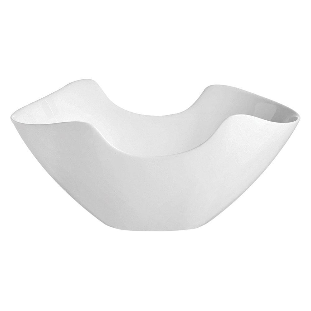 Saladeira Vidro Temperado Branco 1,7L Luminarc Salenco 13X25X29Cm