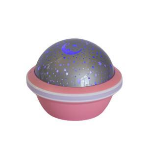 Luminária Projetora Cósmica Rosa