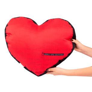 Almofada Shape Coração Amo Teu Sorriso Uatt