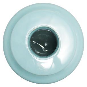 Vaso Cerâmica Azul Aquamare 23X15X15Cm