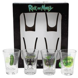 Kit Copos de Shot 50 ml Rick and Morty
