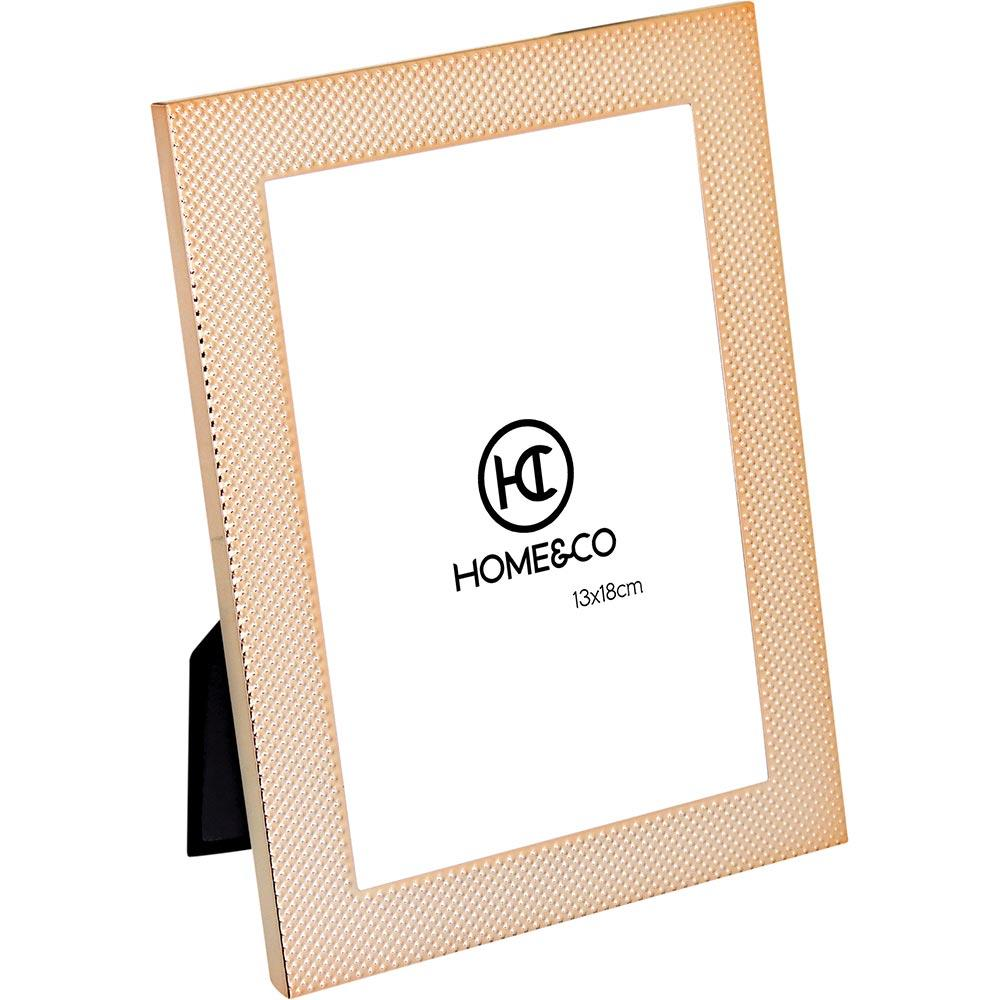 Porta-Retratos Metal Dourado 13X18 Home&Co Marietas 21X16X3Cm