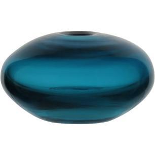 Vaso Vidro Azul Gicy 6X10X10Cm