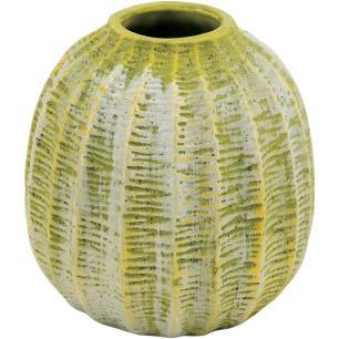 Vaso Cerâmica Verde Home&Co Albero 15X14X14Cm