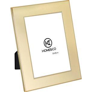 Porta-Retratos Metal Dourado 13X18 Home&Co Susan 23X18X1Cm