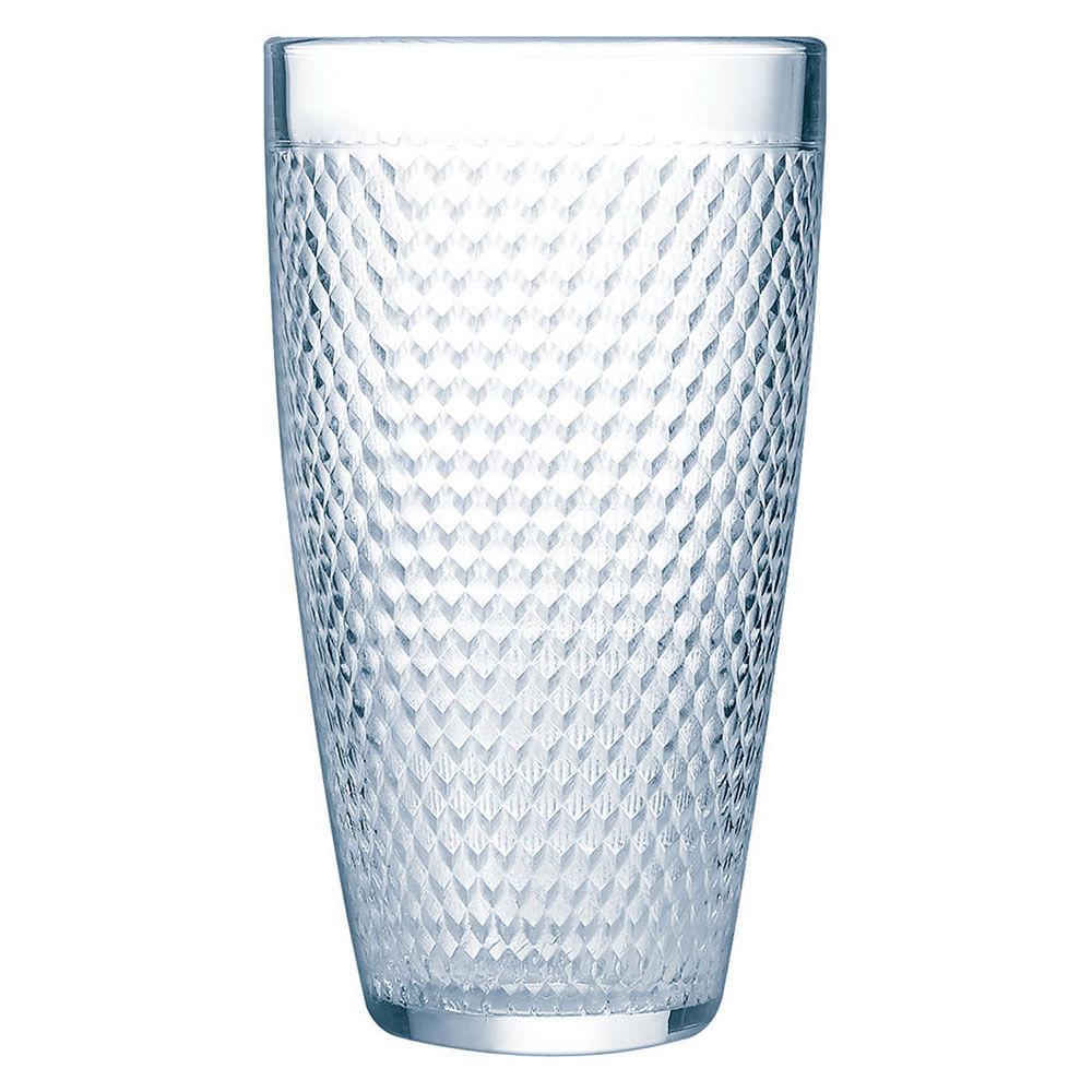 Copo Long Drink Vidro 350Ml Luminarc A L`Oeil 14X8X8Cm 6 Peças