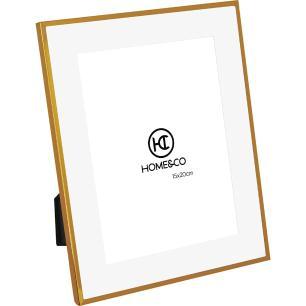 Porta-Retratos Metal Dourado 15X20 Home&Co Larson 26X21X1Cm