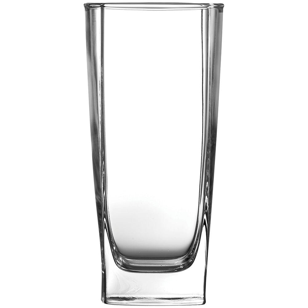 Copo Long Drink Vidro Transparente 330Ml Luminarc Sterling 15X8X8Cm 6 Peças