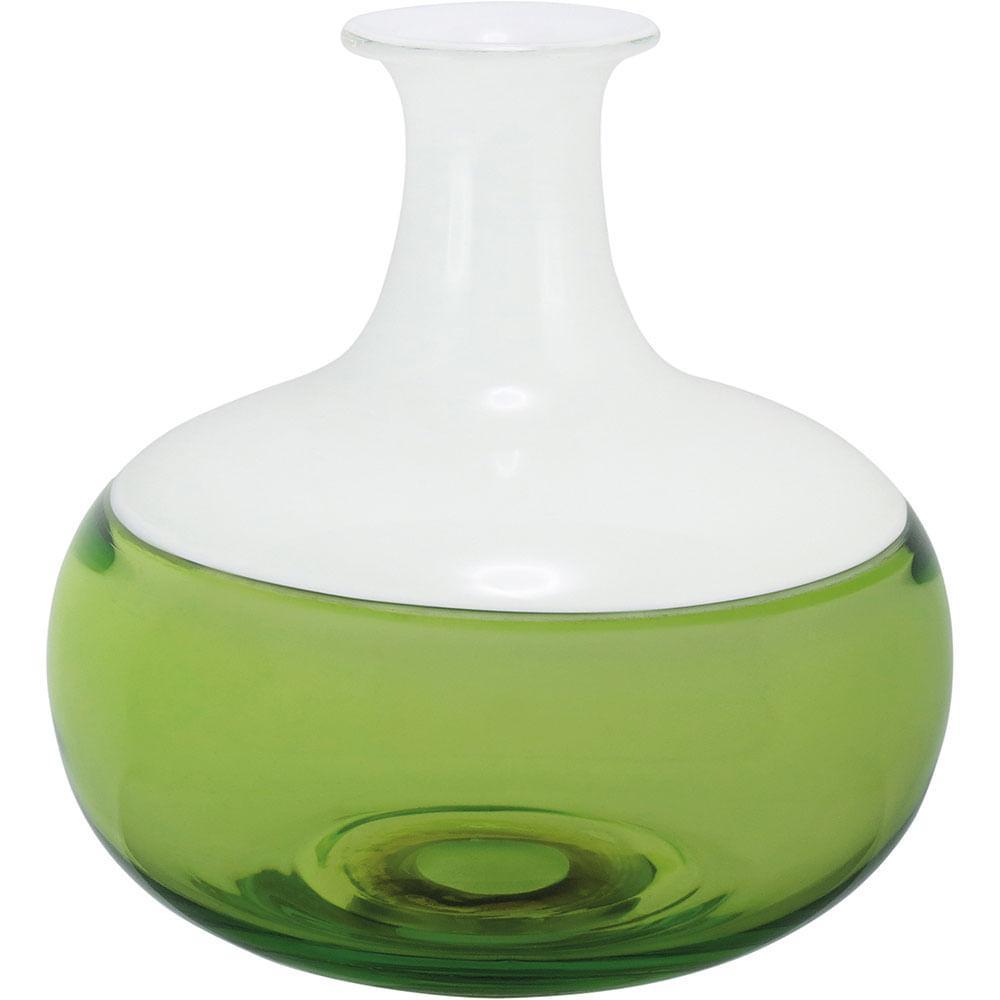 Garrafa Decorativa Vidro Verde Thyara 20X20X20Cm
