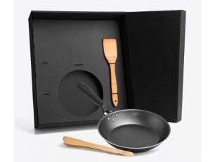 Kit para Cozinha Welf KT20017 Inox e Bambu 3 Peças