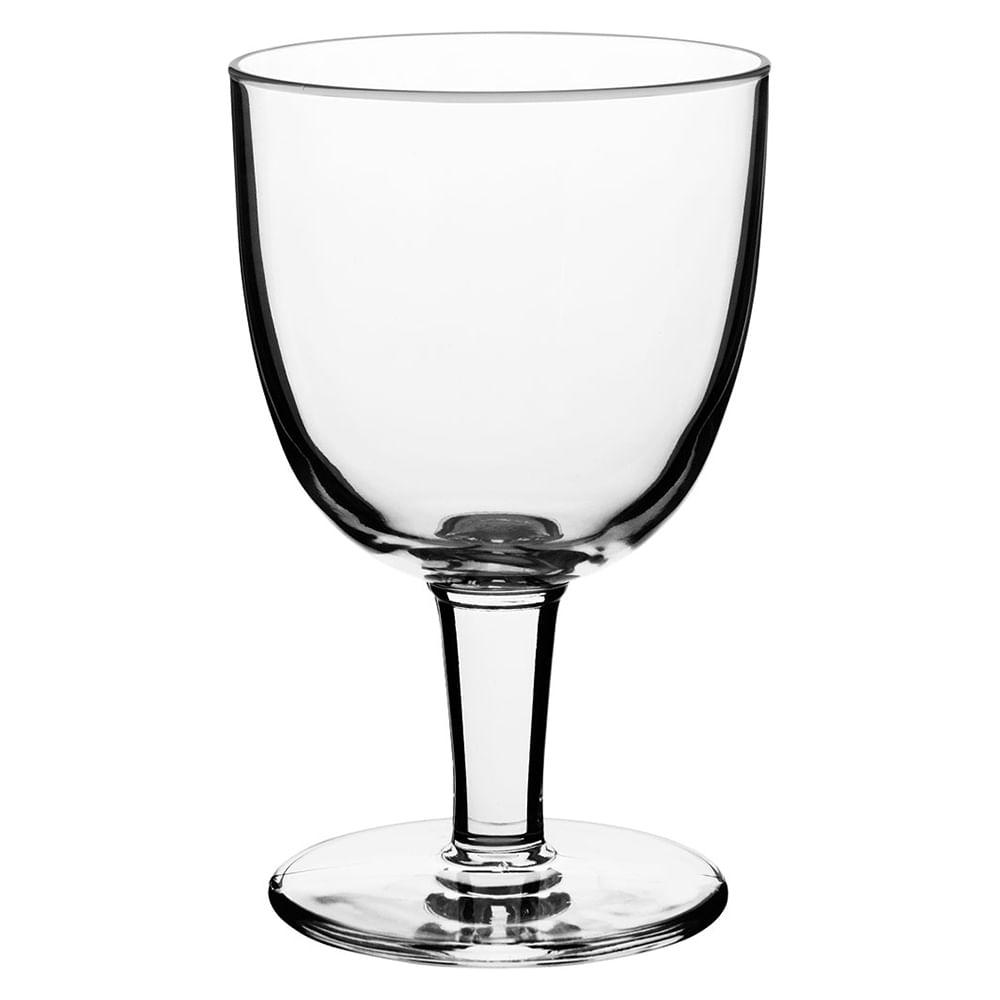 Taça Cerveja Vidro Transparente 420Ml Bormioli Rocco Abbey 16X10X10Cm 6 Peças