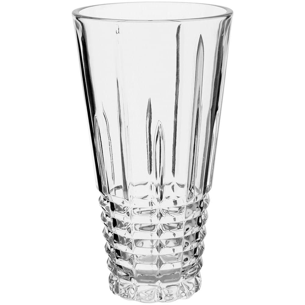 Vaso Ecologico Cristal Transparente Lourent 24X14X14Cm