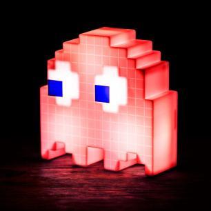 Luminária Fantasminha Vermelho LED USB